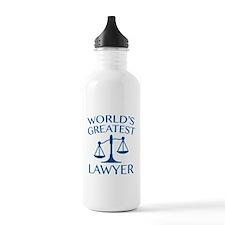 World's Greatest Lawyer Sports Water Bottle
