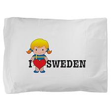 love_sweden.jpg Pillow Sham