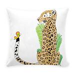 Animal Alphabet Jaguar Everyday Pillow