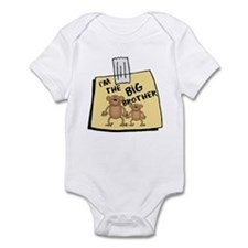 I'm The BIG Brother Baby bodysuits