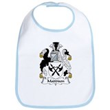 Maddison Family Crest Bib