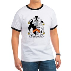 Mackworth Family Crest Ringer T