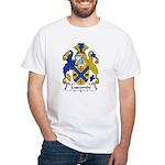 Luscombe Family Crest White T-Shirt