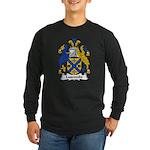 Luscombe Family Crest Long Sleeve Dark T-Shirt