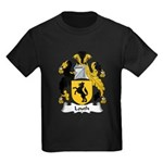 Louth Family Crest Kids Dark T-Shirt