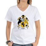 Louth Family Crest  Women's V-Neck T-Shirt