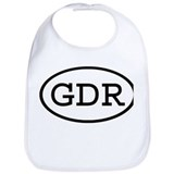 GDR Oval Bib