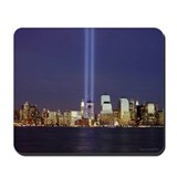 WTC Memorial Lights Mousepad