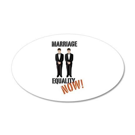 Marriage Equality Now! Wall Decal