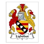 Lightfoot Family Crest Small Poster