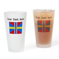 Sweden Norway Union Flag Drinking Glass
