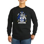 Lexington Family Crest Long Sleeve Dark T-Shirt