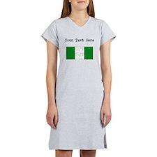 Nigeria Flag Women's Nightshirt