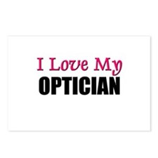 I Love My OPTICIAN Postcards (Package of 8)