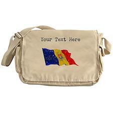 Moldova Flag Messenger Bag