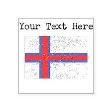 Faroe Islands Flag Sticker
