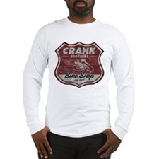 CRANK BROS. BIKE SHOP Long Sleeve T-Shirt