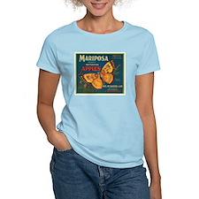 Mariposa Apples Crate Label T-Shirt