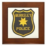 Berkeley Police Framed Tile