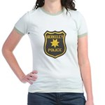 Berkeley Police Jr. Ringer T-Shirt