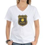 Berkeley Police Women's V-Neck T-Shirt