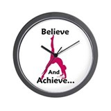 Gymnastics Clock - Believe