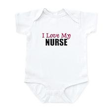 I Love My NURSE Infant Bodysuit