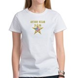 ARTHUR REGAN 08 (gold star) Tee