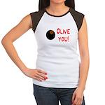 OLIVE YOU Women's Cap Sleeve T-Shirt