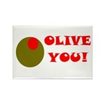 OLIVE YOU Rectangle Magnet (10 pack)