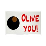 OLIVE YOU Rectangle Magnet (100 pack)