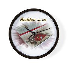 Heddon 104 Wall Clock