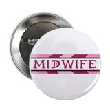 Plum Midwife Button