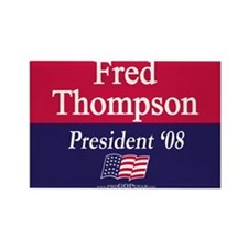 """Fred Thompson"" Rectangle Magnet (100)"