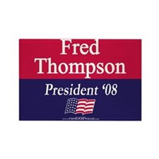 """Fred Thompson"" Rectangle Magnet (10)"