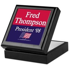 """Fred Thompson for President"" Keepsake Box"