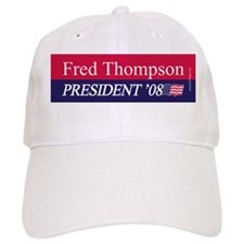 """Fred Thompson for President"" Baseball Cap"