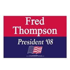 """Fred Thompson for President"" Postcards (8)"