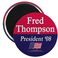"""Fred Thompson for President"" Magnet"