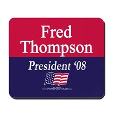 """Fred Thompson for President"" Mousepad"
