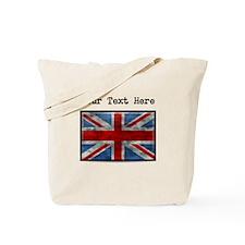 Dirty United Kingdom Flag (Custom) Tote Bag