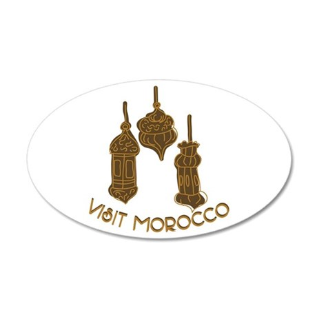 Visit Morocco Wall Decal