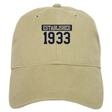 Established 1933 Cap