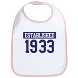 Established 1933 Bib
