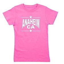 Anaheim CA Girl's Tee