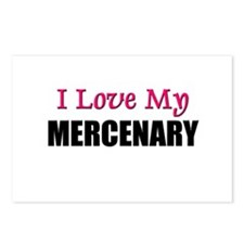 I Love My MERCENARY Postcards (Package of 8)