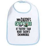 Daddy's Snowmobile Bib