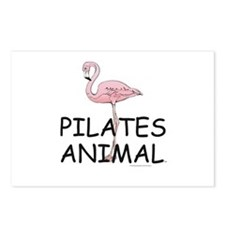 TOP Pilates Animal Postcards (Package of 8)
