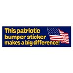 This Patriotic Bumper Sticker Makes a Big Differen
