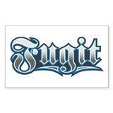 Fugit Rectangle Decal